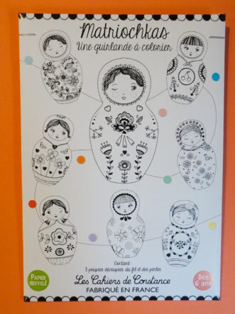 matriochkas à colorier